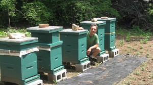 Byron Martin and his Hives