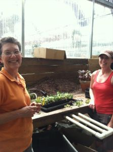 Margaret and Laurie, Logee's growers